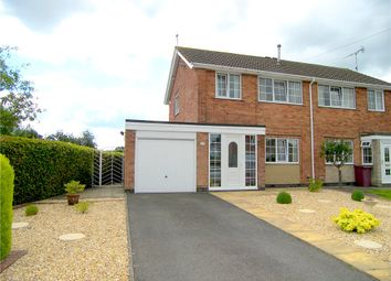 Thumbnail 3 bed semi-detached house for sale in Fernwood Close, Shirland, Alfreton