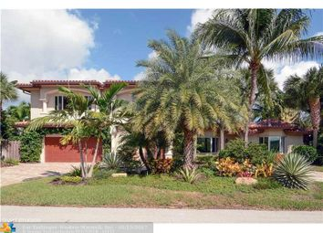 Thumbnail 4 bed property for sale in 2825 Ne 35th Ct, Fort Lauderdale, Florida, United States Of America