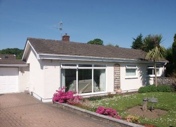 Thumbnail 4 bed detached bungalow for sale in Parry Close, Cwrt Herbert, Neath .