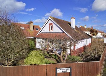 Thumbnail 2 bedroom detached bungalow for sale in Chichester Road, Bognor Regis