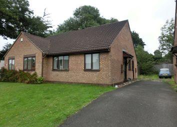 Thumbnail 2 bedroom semi-detached bungalow for sale in Aldis Close, Hall Green, Birmingham