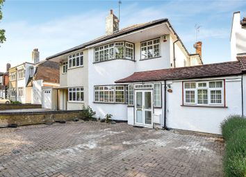 Thumbnail 4 bed semi-detached house for sale in Uxbridge Road, Hatch End, Middlesex