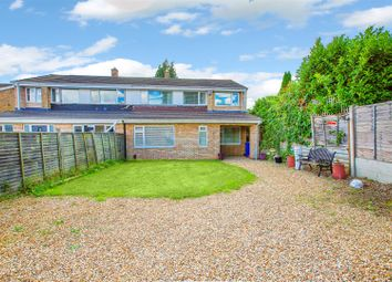 Thumbnail 4 bed semi-detached house for sale in Bramble Close, Kettering