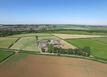 Thumbnail 6 bed farmhouse for sale in Markland Lane, Clowne, Chesterfield, Derbyshire