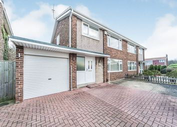 Thumbnail 3 bed semi-detached house for sale in Park Lea, Sunderland, Tyne And Wear
