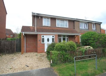 Thumbnail 3 bedroom semi-detached house to rent in Montgomery Road, Earl Shilton, Leicester