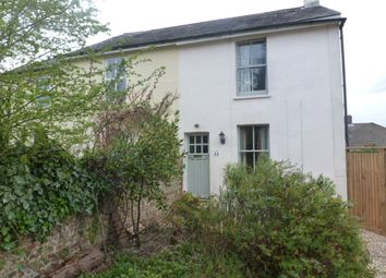 Thumbnail 2 bed semi-detached house to rent in Upper Weybourne Lane, Farnham
