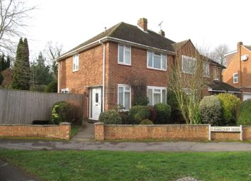 Thumbnail 3 bed semi-detached house to rent in Harcourt Drive, Reading