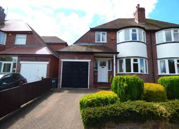 Thumbnail 3 bed semi-detached house to rent in Harts Green Road, Harborne, Birmingham