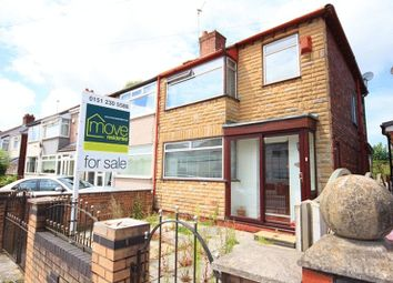 Thumbnail 3 bed semi-detached house for sale in Mayfair Avenue, Swanside, Liverpool