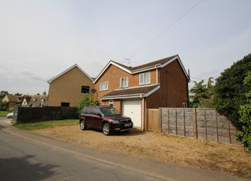 Thumbnail 4 bed detached house to rent in Butts Lane, Wicken, Ely
