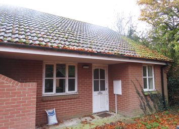 Thumbnail 2 bed terraced bungalow for sale in Milestone Lane, Wicklewood, Wymondham