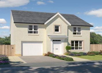 "Thumbnail 4 bed detached house for sale in ""Carrick"" at Greystone Road, Kemnay, Inverurie"