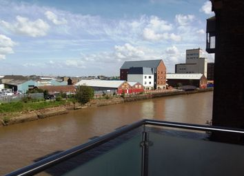 Thumbnail 2 bedroom flat to rent in Old Harbour Court, Wincolmlee, Hull