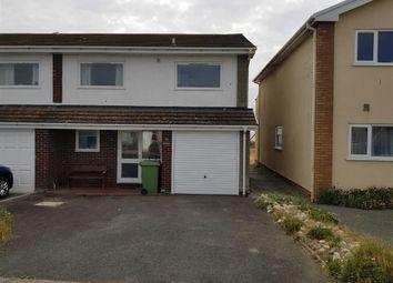 Thumbnail 3 bed semi-detached house for sale in 96, Plas Edwards, Tywyn, Gwynedd