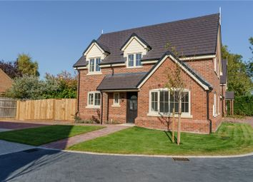 Thumbnail 4 bed end terrace house for sale in Hardwick Court, Holme, Peterborough, Cambridgeshire