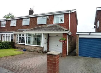 Thumbnail 4 bed semi-detached house for sale in Tillmouth Avenue, Holywell, Whitley Bay