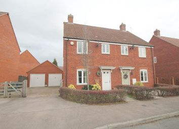 Thumbnail 3 bedroom semi-detached house to rent in Nightingale Way, Walton Cardiff, Tewkesbury