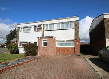 Thumbnail 3 bed semi-detached house for sale in Sussex Close, Hailsham