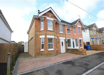 Thumbnail 3 bed semi-detached house for sale in Croft Road, Parkstone, Poole