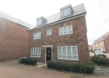 Thumbnail 5 bed detached house to rent in Southdown Grove, Milton Keynes