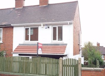 Thumbnail 3 bed semi-detached house to rent in Beech Crescent, Mexborough, South Yorkshire, South Yorkshire, uk