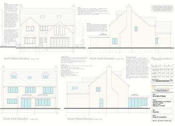 Thumbnail 6 bedroom land for sale in Building Plot 3, Leek Road, Longsdon
