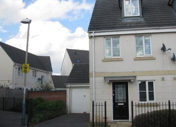 Thumbnail 3 bed semi-detached house to rent in Rosebay Gardens, Cheltenham
