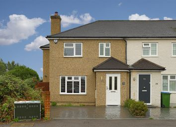Thumbnail 3 bed semi-detached house for sale in Normanhurst Road, Walton-On-Thames
