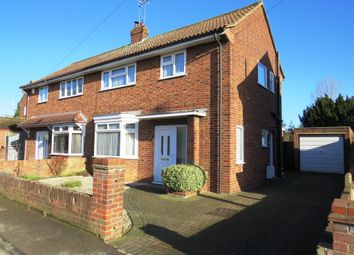 Thumbnail 3 bedroom semi-detached house for sale in Gildenburgh Avenue, Peterborough