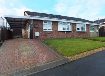 Thumbnail 2 bed semi-detached bungalow for sale in Ashlar Close, Wedgwood Farm Estate, Fegg Hayes, Stoke-On-Trent