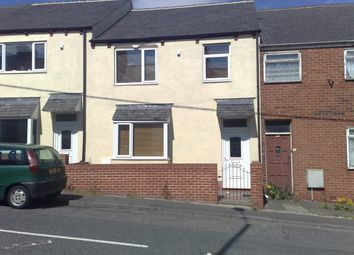 Thumbnail 3 bed terraced house to rent in Gill Crescent North, Fence Houses