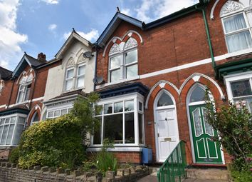 Thumbnail 3 bed terraced house for sale in Beaumont Road, Bournville, Birmingham