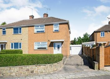 Thumbnail 3 bed semi-detached house for sale in Mount Crescent, Warsop, Mansfield, Nottinghamshire