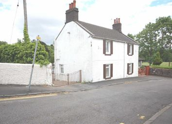 Thumbnail 3 bedroom cottage for sale in William Street, Duntocher, Clydebank