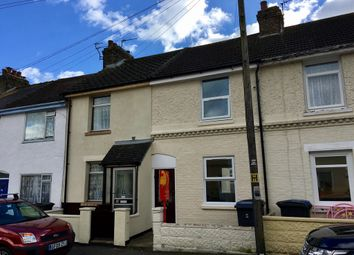 Thumbnail 2 bed terraced house to rent in Devonshire Road, Dover