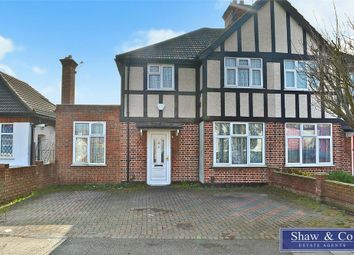 Thumbnail 3 bed semi-detached house for sale in Dorset Waye, Hounslow, Middlesex