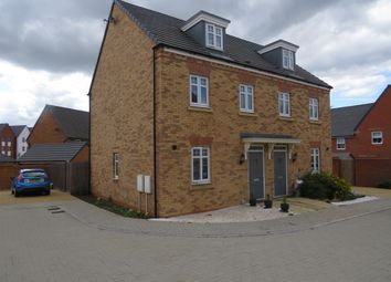 Thumbnail 3 bed semi-detached house for sale in Quintus Close, Fairfields, Stony Stratford