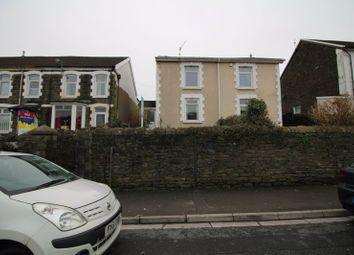 Thumbnail 4 bedroom semi-detached house for sale in Wood Road, Treforest, Pontypridd