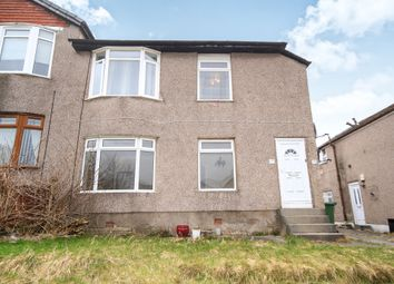 Thumbnail 3 bedroom flat for sale in Montford Avenue, Glasgow