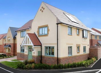 "Thumbnail 4 bedroom detached house for sale in ""Lincoln"" at Gretton Road, Weldon, Corby"