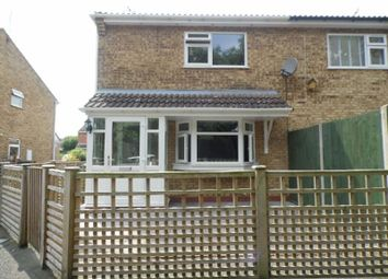 Thumbnail 1 bed end terrace house to rent in Maple Avenue, Countesthorpe, Leicester