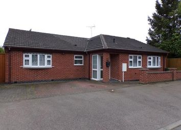 Thumbnail 3 bed bungalow for sale in Hillrise Avenue, Braunstone Town, Leicester, Leicestershire