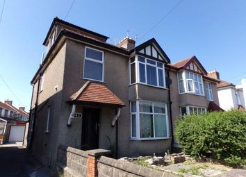 Thumbnail 2 bed maisonette for sale in Locking Road, Weston-Super-Mare
