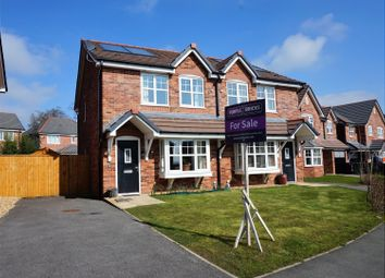 Thumbnail 3 bed semi-detached house for sale in Croft Way, Longridge, Preston