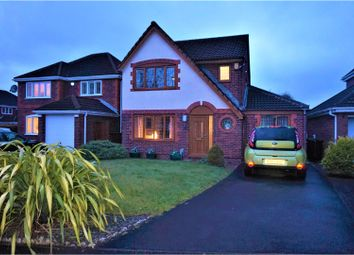 Thumbnail 4 bed detached house for sale in Sanderling Drive, Leigh