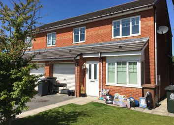 Thumbnail 3 bed semi-detached house to rent in Alwin Close, Wallsend