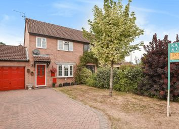 Thumbnail 3 bed semi-detached house for sale in Wheeler Close, Burghfield Common, Reading