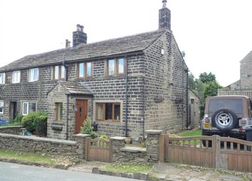 Thumbnail 2 bed cottage to rent in Carr Hill Road, Upper Cumberworth, Huddersfield