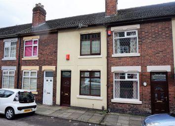 Thumbnail 2 bedroom terraced house for sale in Heber Street, Stoke-On-Trent